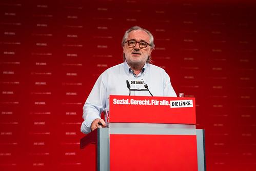 Bundesparteitag DIE LINKE / Rede Giorgos Chondros