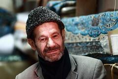 Carpets seller (deus77) Tags: carpet seller esfahan isfahan iran persian people man portrait bazaar