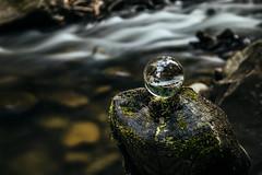Day 164 (kubaszymik) Tags: creek river long exposure longexpo canon ball glass vsco hdr high dynamic range poland sopotnia żywiec silesia colors green