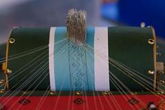 Lace weaving with-bobbins (victoraperez) Tags: macro lace weaving bobbins traditional crafts market