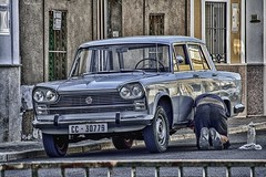 Remembering the sixties 1960 (Peideluo) Tags: coche calle spain street car auto