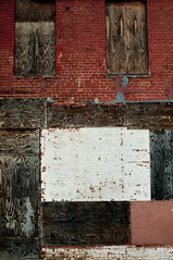 Condemned Art (hutchphotography2020) Tags: bricksandmortor plywood condemnedbuilding texture nikon hutchphotography