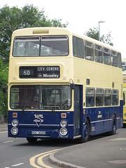West Midlands PTE 6300 Foden NC ROC300R - front (FF3170) Tags: liverpool merseyside kirkby nwvrt gardner 6lxb allison mt640