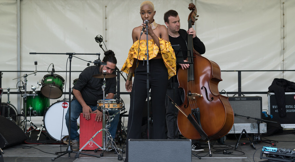 NC GREY IS A SOUL SINGER SONGWRITER [SHE PERFORMED AGAIN AT AFRICA DAY IN DUBLIN]-128606