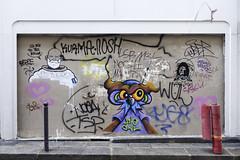Nite Owl - Paris Sketch Culture (Ruepestre) Tags: nite owl paris sketch culture art france graffiti parisgraffiti graffitiparis graffitifrance urbain urban exploration wall mur rue