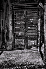 Saloon (Scott Sanford) Tags: 6d abandoned classic ef2470f28l eos ghosttown hillcountry naturallight summer texas topazlabs vintage weathered historic moody blackandwhite monochrome bw bweffects