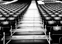 Back of the net son (Ivo L.) Tags: fulham craven cottage london uk great britain england football footy stadium iphone blackandwhite bw