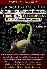 Enbiya 10 (Oku Rabbinin Adiyla) Tags: allah kuran islam ayet book torah bible muslim