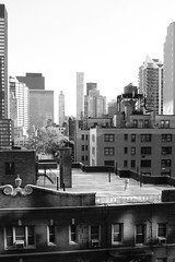 the Turtle Bay neighbourhood (Towner Images) Tags: ny nyc us usa towner manhattan urban city america turtlebay skyscraper mono bw monotone monochrome blackandwhite rooftop parapet townerimages