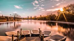 embarcadero (Valencos89) Tags: landscape paisaje parque europa lake boat boats barcas barca longexposure longexposition colourfull