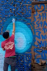 Scoundrel (drew*in*chicago) Tags: chicago graffiti tag mural paint painter street spray 2017 pilsen
