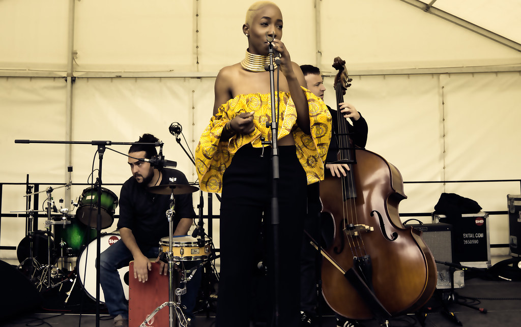 NC GREY IS A SOUL SINGER SONGWRITER [SHE PERFORMED AGAIN AT AFRICA DAY IN DUBLIN]-128594