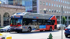 WMATA Metrobus 2015 New Flyer Xcelsior XN40 #2836 (MW Transit Photos) Tags: wmata metrobus new flyer xcelsior xn40