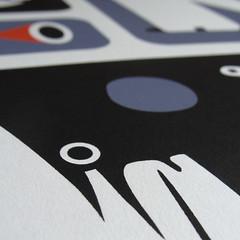 Silkscreen print release (Bilos Mantho) Tags: silkscreen screenprint editionscomete bilos france uk printisnotdead graffiti illustration