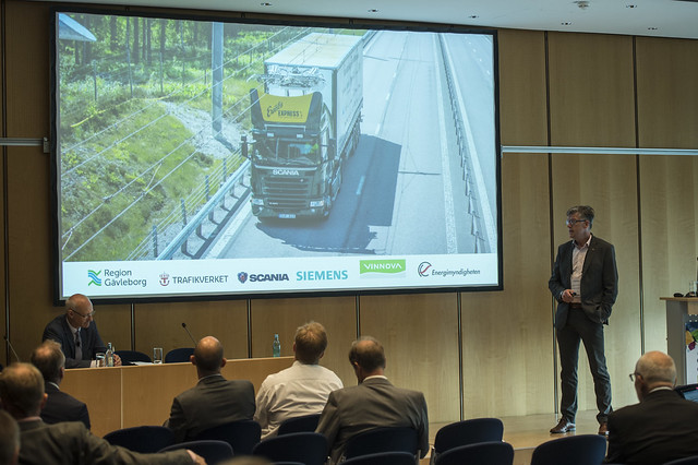 Nils-Gunnar Vågstedt discusses hybrid trucks