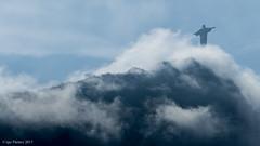 Cristo Redentor 2 (soundmoods) Tags: rio brazil brasil brazilie cristoredentor clouds mountains haze distance diamondclassphotographer