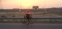 Me on sunset ride, Al Ain, UAE (Patrissimo2017) Tags: cycling