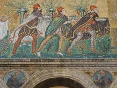 Ravenna mosaics - Three wise men (Mimi_K) Tags: caspar melchior balthazar 3wisemen ravenna italy