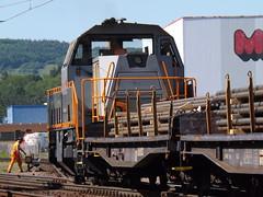 SaarRail Gravita bei Dillingen (Saar) (miwe5975) Tags: saarstrecke gravita saarrail locomotive