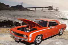 1969 Chevrolet Camaro SS diecast 1:24 made by Autoworld (rigavimon) Tags: diecast miniaturas 124 chevrolet camaro ss autoworld antofagasta