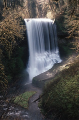 Middle North Falls 13, 2017 (Sara J. Lynch) Tags: sara j lynch silver falls state park oregon waterfall water fall middle north