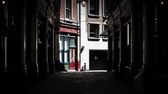 Merchant House (Sean Batten) Tags: london england uk leadenhallmarket merchanthouse light shadow market nikon df 58mm shop red
