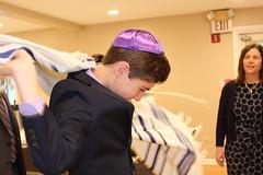 IMG_9441 (andreaneiman) Tags: barmitzvah judaism jewish synagogue rabbi orthodox service torah tefillin kippah tallit tallis mazeltov