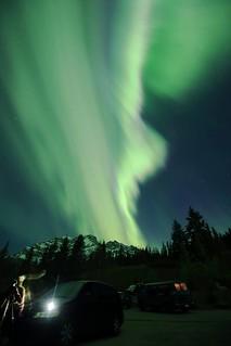 Cascade Mountain aurora May 28