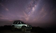 Late Nights and Bright Skies II (Andrew Kellaway) Tags: astrophotography 4wd 4x4 patrol landcruiser milky way stars exploring nsw lake macquarie toyota nissan galaxy sony a7rii andrew kellaway astrometrydotnet:id=nova2100298 astrometrydotnet:status=failed