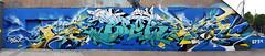 Bandi  •  Brok (HBA_JIJO) Tags: brok graffiti france bandi vitry paris94 vitrysurseine hbajijo painting spray art urban urbain wall mur mural murale peinture postgraffiti fusion streetart panorama writer lettres letters lettrage lettring