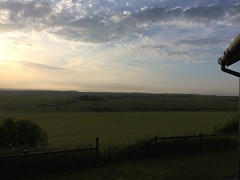 Sky (My photos live here) Tags: eastbourne east sussex england i phone 5s beachy head downland estate chalk sky grass fields sunset evening south downs national park
