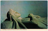 Wareham - Effigy of Lawrence of Arabia (pepandtim) Tags: postcard old early nostalgia nostalgic wareham effigy lawrence arabia rector church wardens st marins dennis sons scarborough london 49law32 dagger janbiya