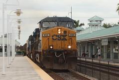 Just Documentation (brickbuilder711) Tags: csx trirail p671 q453 dania beach miami fort lauderdale florida train trains ac44cw brookville bl36ph railfan east coast station sfrc