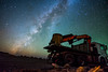 Milky Way Wrecker (free3yourmind) Tags: wrecker tow crane track truck milky way night sky stars lapalma canary islands spain colorful astrometrydotnet:id=nova2216308 astrometrydotnet:status=failed