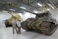 King Tiger & Jagd Tiger (inuitmonster) Tags: tanks bovington bovingtontankmuseum secondworldwar kingtiger jagdtiger