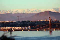 Coquimbo, Chile (Darlybelle) Tags: city coquimbo chile snow sea landscape