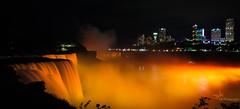 American and Niagara Falls (kranthi gurram) Tags: nightphotography nikon d7100 niagarafalls americanfalls canada waterfalls lowlightphotography lowlight slowshutter milkywhite colorful night kranthigurram kranthi g