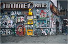 INTIMES Kino (kurtwolf303) Tags: berlin germany building gebäude kino cinema deutschland graffiti bunt colorful people streetphotography strasenfotografie city stadt menschen leute olympusem1 omd microfourthirds micro43 systemcamera mirrorlesscamera spiegellos fassade facade urbanlifeinmetropolis unlimitedphotos urban scenery 250v10f 500v20f 750views 800views 900views 1000v40f