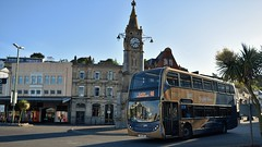 Stagecoach Devon. YN14 OWO. 15961. (Drive-By Photography - (2M Views!!)) Tags: stagecoach gold yn14owo 15961 bus psv 46 paignton exeter torquay harbourside torbay