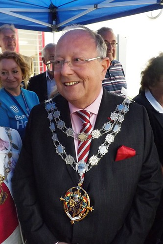 Ccllr. Lawrence Williams, The Mayor