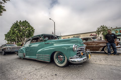 1947 chevy fleetline (pixel fixel) Tags: 17thannual 1947 carshow chevrolet fleetline green uptownwhittier whittier together cc