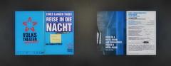 """Playbill """"Long Day`s Journey into Night"""" (Eugene O`Neill) """"toi toi toi Thank you dear Ingrid"""" Zur Premiere 2010 """"Eines langen Tages Reise in die Nacht"""" Programmheft mit """"toi toi toi danke liebe Ingrid"""" (hedbavny) Tags: premiere programmheft eineslangentagesreiseindienacht longdaysjourneyintonight oneill eugeneoneill theater theatre work arbeit souffleuse prompter blau blue himmelblau red rot star stern black schwarz weis white schrift handschrift unterschrift signatur druck heft buch folder programme playbill jedentagtheater gelb yellow postit haftnotiz zeichnung drawing message toitoitoi danke present geschenk fischer handwerk handwerker technik techniker schneider schneiderei tapezierer maler dekoration bühnenbild werkstätte pyrotechnik requisite beleuchtung licht light morgenlicht gold abendlicht ton liste hotel hotelzimmer wien vienna austria österreich hedbavny ingridhedbavny"""