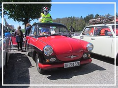 AWZ Trabant P 50, 1959 (v8dub) Tags: awz trabant p 50 1959 sachsenring schweiz suisse switzerland bleienbach german ddr pkw voiture car wagen worldcars auto automobile automotive old oldtimer oldcar klassik classic collector