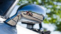 Mirror selfie, get it? (GmanViz) Tags: gmanviz color car automobile detail nikon d7000 chrome bmw z8 rearview mirror door reflection