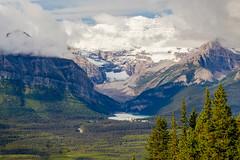 The glacier and the lake (1ns0mn1ac) Tags: banffnationalpark canada rockiestrip lakelouisegondola canadianrockies
