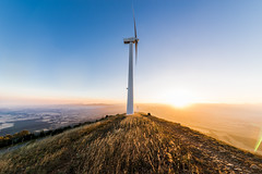 Wind power (Jon Zazpe) Tags: wind viento energia energy renovables green sun sunset sunfall blue contrast navarra spain españa mountain montaña wildlife nature naturaleza renovable power electrico acciona azul paisaje landscape europa sigma 1224 gran angular nikon d610 landmark horizontal colour colorful photography pamplona atardecer sky light luz verde ngc