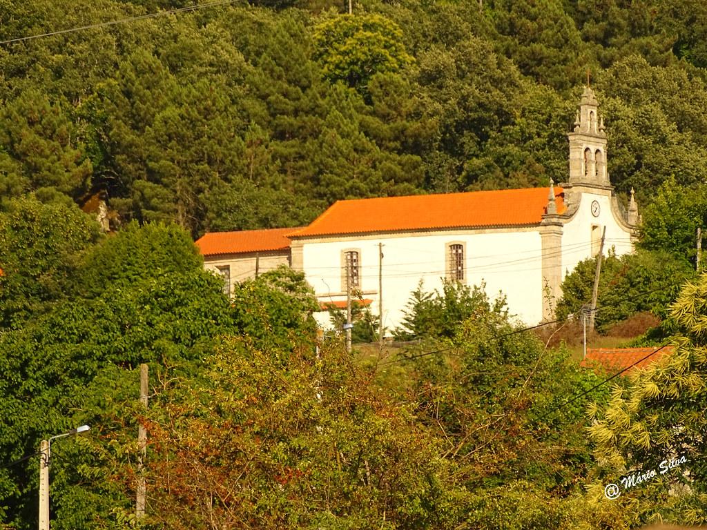 Águas Frias (Chaves) - ... igreja matriz ...