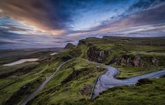 Skye morning2 (juhwie.foto - PROJECT: LEIDENSCHAFT-LICH-T) Tags: scotland beautifulscotland skye road mountains hills sky clouds nature landscape pentax k1 ricohimaging pentaxart