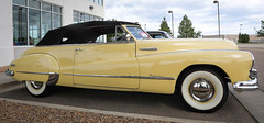 1949 Buick Roadmaster Convertible (coconv) Tags: car cars vintage auto automobile vehicles vehicle autos photo photos photograph photographs automobiles antique picture pictures image images collectible old collectors classic blart 1949 buick roadmaster convertible 49 yellow cabriolet