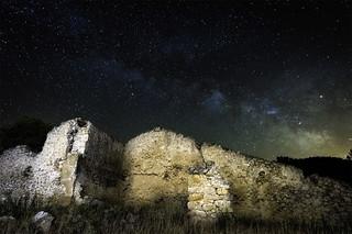 Ruinas y via lactea
